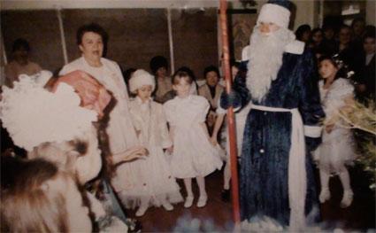 Хоровод с Дедом Морозом!